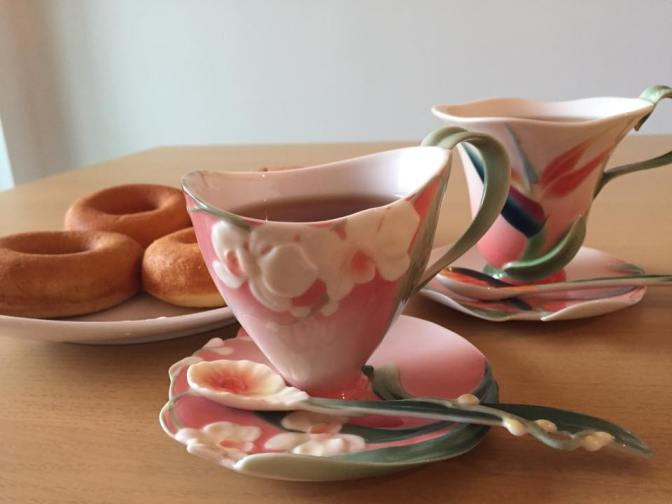 サロンでお出しするお茶が好評です