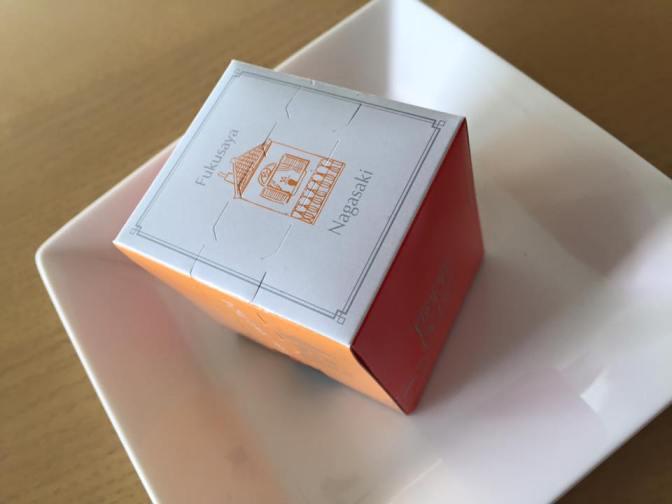 【超不定期!本日のお菓子】福砂屋カステラ